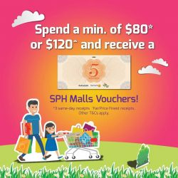 [The Clementi Mall] It's the last week for you to spend and be rewarded at The Clementi Mall.