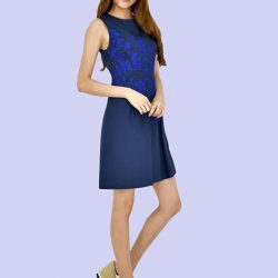 [MOONRIVER] Fann Embroidery Fit and Flare DressUp to 50% for regular items and up to 70% off for sale items.