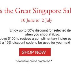 [ILUVO] Enjoy great deals at iluvo this GSS!