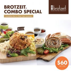 [Brotzeit German Bier Bar and Restaurant] Are you hungry?
