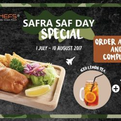 [Eighteen Chefs] Celebrate SAF Day with our SAFRA SAF Day Special!