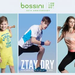 [Bossini Singapore] Bossini Singapore's Ztay Dry Summer 2017 Activewear Collection is available now!