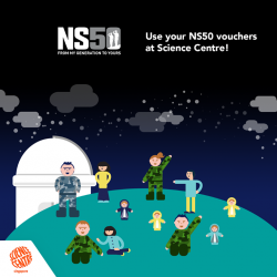 [Elements @ Play by Science Centre Singapore] National Service has been the cornerstone of each and every Singaporean (especially our men).