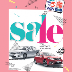 [Courts] In conjunction with The Great Singapore Sale, shop at COURTS & stand a chance to walk away with 2 cars,  cruise