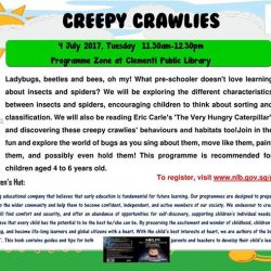 [Clementi Public Library] Calling all parents and children!