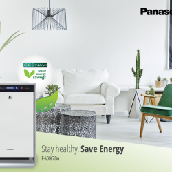 [Panasonic] The clean air you breathe not only saves your family from pollutants but brings you energy savings too!