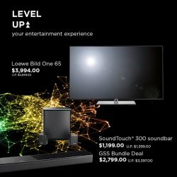 [BOSE] Experience the image, feel the sound and level up your whole movie experience at home with our Loewe TVs and