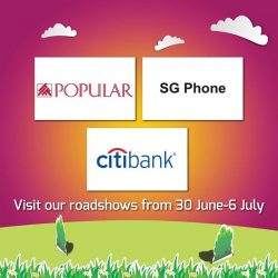 [The Clementi Mall] Expect only the best deals from Popular (05-01/05) , SG Phone (05-K5) and Citibank (03-K11) when you