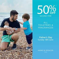 [Marks & Spencer] Last chance to squeeze in a gift in time for Father's Day!