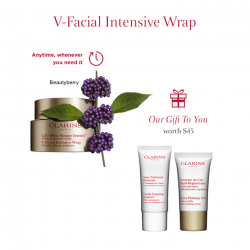 [Clarins] Online Exclusive: enjoy a FREE 2-pc gift set (worth up to $45) with every item purchased from the Shaping