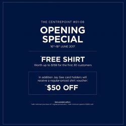 [T. M. Lewin] Opening Special available exclusively to the brand new T.