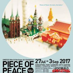 [The Brick Shop] The Singapore leg of the PIECE Of PEACE World Tour is only held once and would not return - come visit