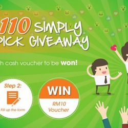 [Face to Face Noodle House] We are giving away 110 vouchers worth RM1,100!