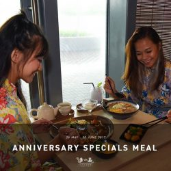 [Yunomori Onsen and Spa] Have you tried our anniversary specials meal yet?