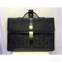 [Luxury City] Preloved mcm briefcase☎️ :+6567020082 WhatsApp :+6581814221 Follow us on FB:www.