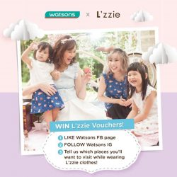[Watsons Singapore] The long weekend is coming soon!