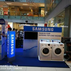 [Harvey Norman] Amazing offers await you at HarveyNormanSG OneKM's roadshow, featuring deals from Samsung and Philips.