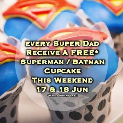 [DC Comics Super Heroes Cafe] Father's Day is around the corner and we're super excited to share that we'll be giving away