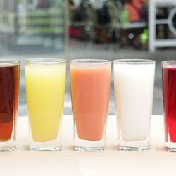 [Sumire Yakitori House] What's your mood color today ❤💛💚💗 All drink 1 for 1 until 7⃣ Tuesday Special