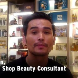 [The Body Shop Singapore] We can't get enough of men who mask, so here's The Body Shop Consultant Iman to show us