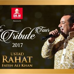 [SISTIC Singapore] Tickets for The Tribute Concert 2017 by Ustad Rahat Fateh Ali Khan goes on sale on 29th June.