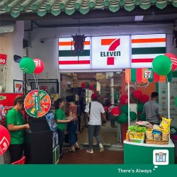 [7-Eleven Singapore] Come join us now at our store opening event at 25 Tregganu Street!