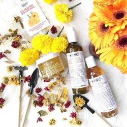 [Kiehl's Singapore] DidYouKnow: Harvested once a year in full sun, the soothing Calendula flower is hand-picked, hand-sorted, and sun-dried