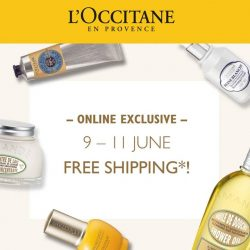[L'Occitane] It's the LAST DAY of our free shipping weekend!