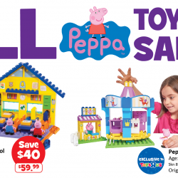 [Babies'R'Us] All Peppa Pig toys on offer from the 16 (Fri) to the 19 (Mon) June 17!