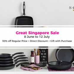 [SCANPAN] Spend $250 in a single receipt and get a SCANPAN umbrella for free this GSS!