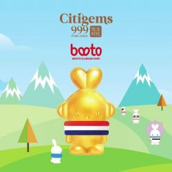 [CITIGEMS] Booto, Korea's favourite bunny, has arrived at Citigems in 999 Pure Gold!