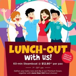 [Seoul Garden Singapore] Round up the gang because our Lunch-Out promotion is back by popular demand!