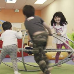 [GYMBOREE PLAY & MUSIC] We provide an environment where children are free to move, play and explore safely.