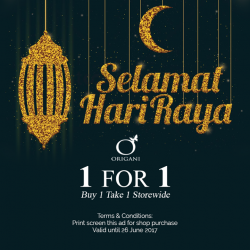 [Organi] Last Day for our Hari Raya Promo!