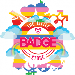 [THE LITTLE BADGE STORE] Proudly Celebrating the Freedom to Love as one, Love wins every single year.