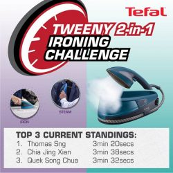 [Tefal] This is your last chance to beat the competition and win the Tweeny 2-in-1!