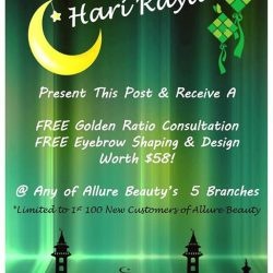 [Yami Yogurt] Allure Beauty wishes all our Malay Friends a Selamat Hari Raya!