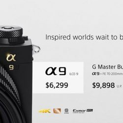 [Sony Singapore] Get your hands on the spectacular α9, Sony's new digital 35mm full-frame camera that surpasses all expectations in