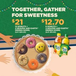 [Dunkin' Donuts Singapore] Celebrate this glorious month with our great value deals!