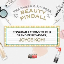 [COSMETICS & PERFUMES BY SHILLA] Thank you to all the players for supporting Shilla Beauty Pinball!