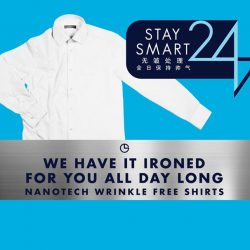 [Goldlion] Stay Smart 24/7 with our new Nanotech Wrinkle Free Shirts!