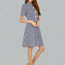 [MOONRIVER] Annie Polka Dots Fit and Flare Dress - There is never a wrong time for polka dot dress.