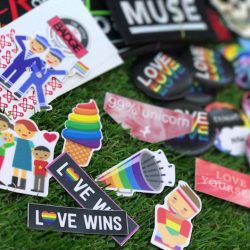[THE LITTLE BADGE STORE] We support the freedom to love and gender equality, you'll never go wrong with our high quality stickers and