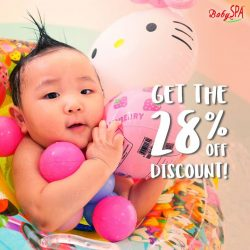 [BabySpa] Hi parents, we are running a WEEKDAY promotional discount!