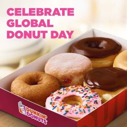 [Dunkin' Donuts Singapore] Global Donut Day is here!