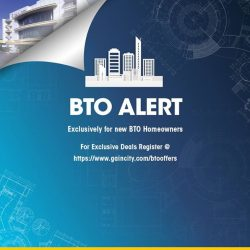 [Gain City] Attention all BTO owners!