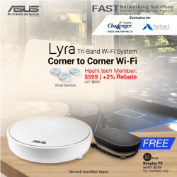 [CHALLENGER MINI] Enjoy the freedom to roam around the house, with best signals and stable Wi-Fi.