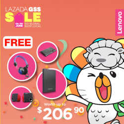 [Lenovo] Lazada GSS is now ON!