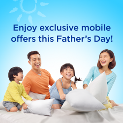 [M1] Surprise your Super Dad with the latest smartphones this Father's Day.