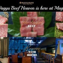 [Magosaburo] Enjoy the Perfect Wagyu Beef under the Perfect Atmosphere!